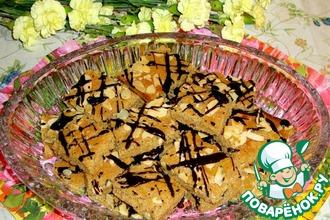 Рецепт: Печенье Рассыпчатое с халвой