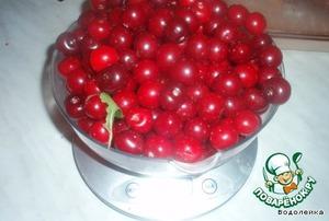 Take 1kg of cherries.