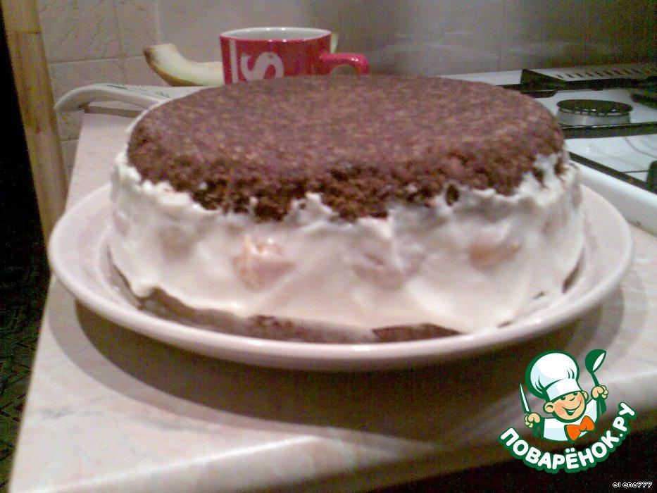 """Торт """"Абрикосовый рай"""""""