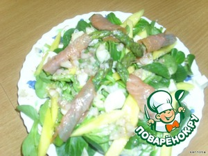 Салат из спаржи и манго – кулинарный рецепт