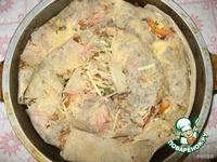 Запеканка из лаваша с мясом Милена ингредиенты