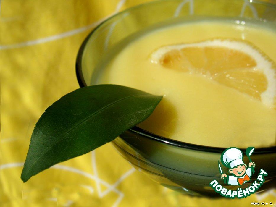 Лимонный крем-мусс