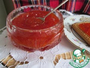 Рецепт Варенье из красного грейпфрута