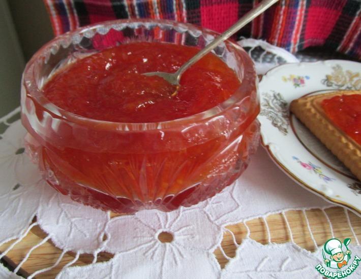 Рецепт: Варенье из красного грейпфрута