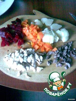 Мясной салат из... пароварки – кулинарный рецепт