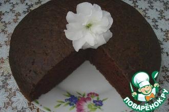 Рецепт: Шоколадный пирог Все в одну форму