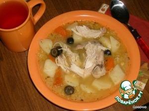 Как только сварится картофель - суп готов! Просто любимый и вкусный супчик!