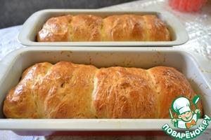 Вот наш готовый хлеб