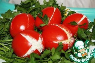 Рецепт: Закуска Букет тюльпанов