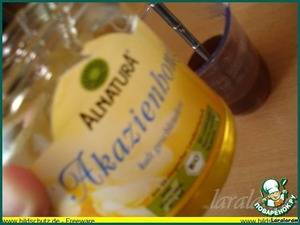 процеживаем,    распускаем мёд, добавляем в маринад