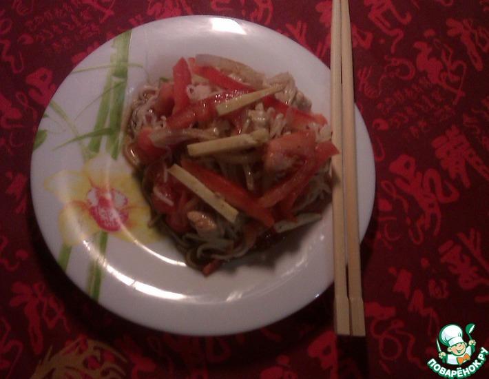 Рецепт: Салат Весна в Китае
