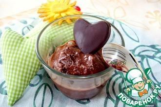 Рецепт: Шоколадный сорбет