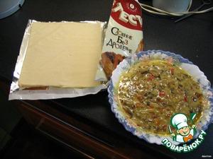 """Слоеное лукошко или """"властелин колец"""" – кулинарный рецепт"""