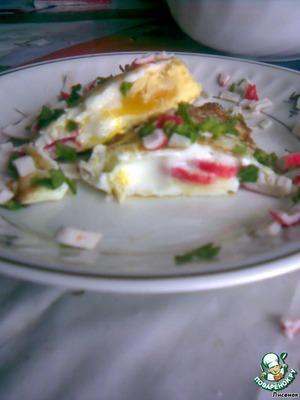 Яичные кошельки – кулинарный рецепт