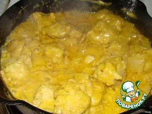 Свинина со сливками – кулинарный рецепт