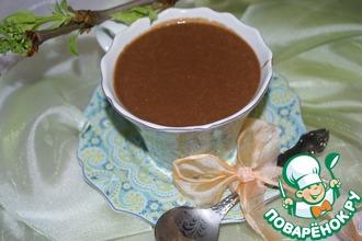Рецепт: Горячий шоколад с овсяными хлопьями