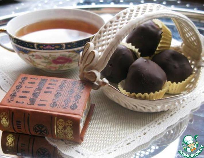 Постные шоколадные трюфели – кулинарный рецепт