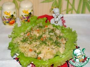 Рецепт Салат из маринованных овощей с булгуром