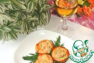 Рецепт: Форель, запеченная с ананасами Розы