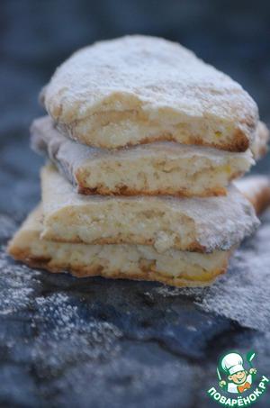 Постное лимонное печенье – кулинарный рецепт