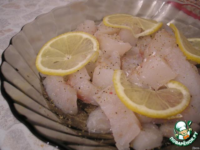 рецепты рыбы со сливками и ананасами