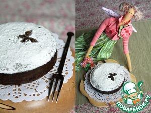 Рецепт Черемуховый торт с миндалем