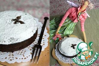 Рецепт: Черемуховый торт с миндалем
