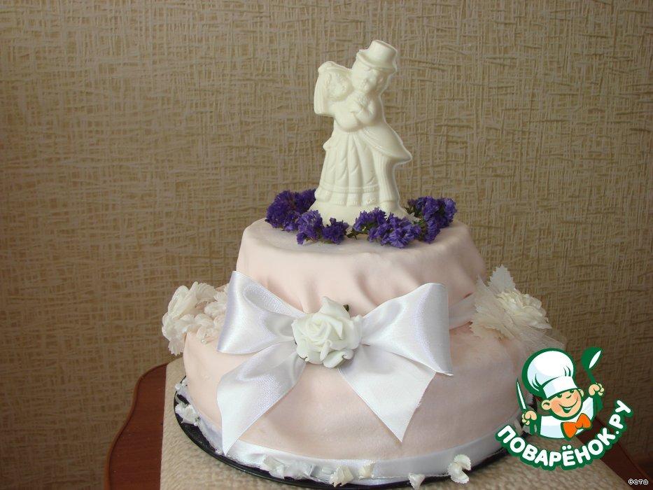 Торт Вкусняшечка бисквитный