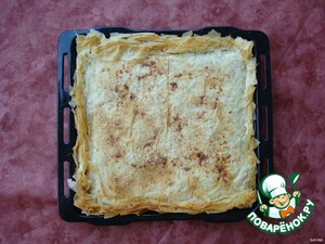 Preheat the oven, bake until Golden color, about 25-30 minutes at a temperature of 180-200°.
