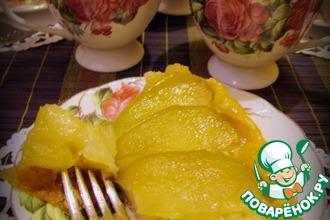 Рецепт: Тарт татен с яблоками и карамелью