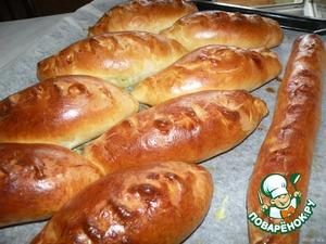 Пирожки капустные Шустрые))) – кулинарный рецепт