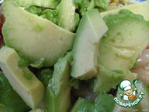 Мясной   мексиканский   салат – кулинарный рецепт
