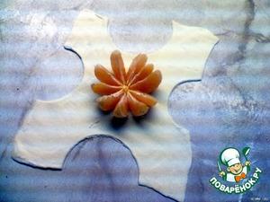Сделать стаканом с острыми краями с каждой стороны полуокружности.