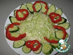 Spread on cucumbers