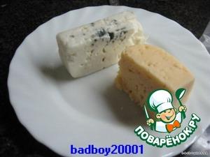 Сыр твердых сортов, 70-100 гр, типа РОКФОР