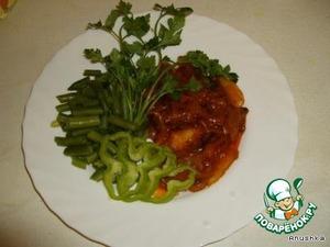 """Постное блюдо """"Gribo4 ki"""" – кулинарный рецепт"""