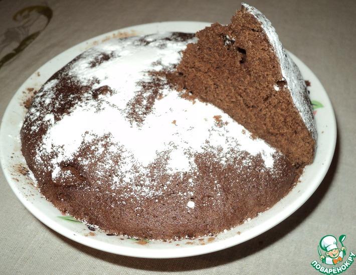 Рецепт: Пирог Пятиминутка