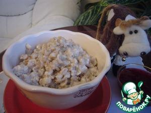 Barley porridge for Breakfast