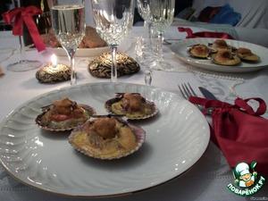 Морские гребешки для любимого – кулинарный рецепт