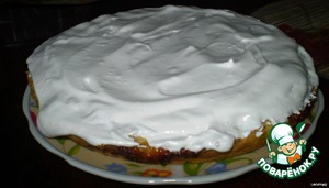 And cover top of pie
