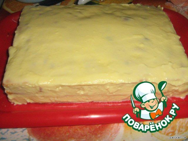 Торт Фруктовое ассорти
