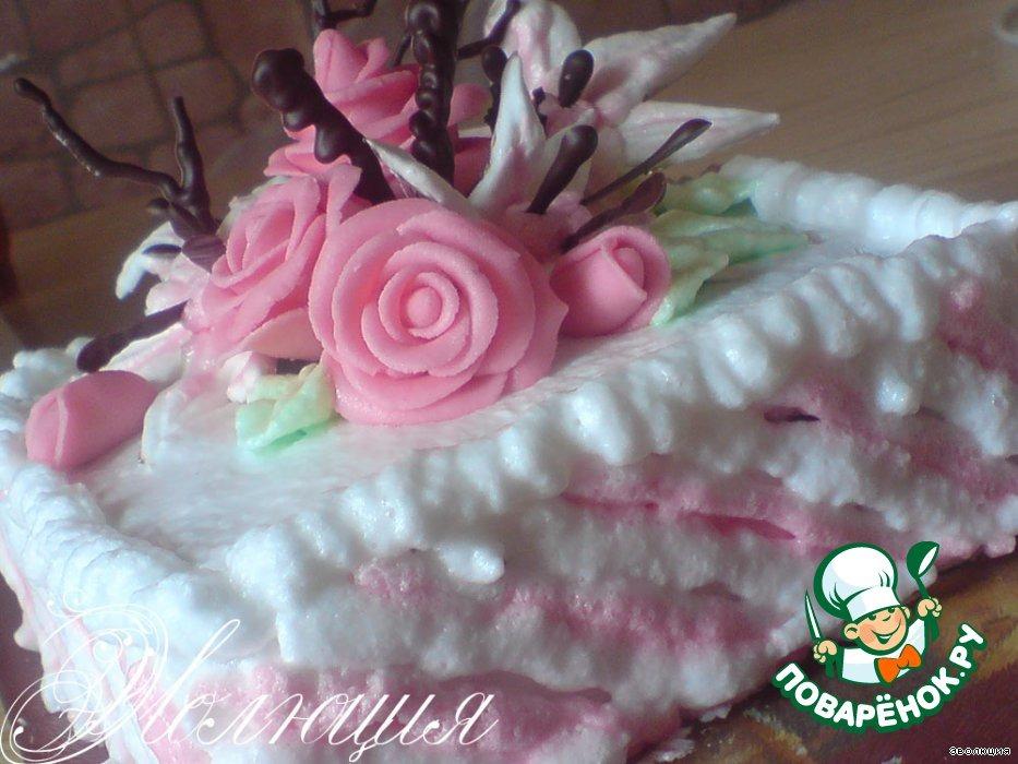 Торт Букетик от любимого