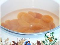 Мясо с курагой, под оригинальным медово-апельсиновым соусом ингредиенты