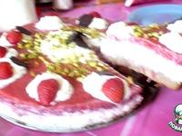 """Торт  творожный  """"Клубничное облачко"""" с фисташками ингредиенты"""
