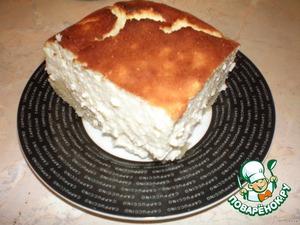 Пирог с яичным ликером – кулинарный рецепт