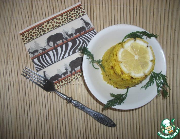 Рецепт: Лимонный рис с кешью