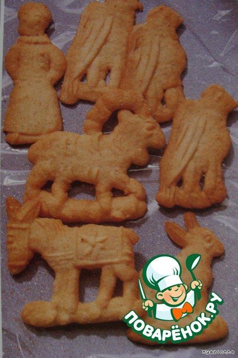 Spekulatius-рождественское печенье
