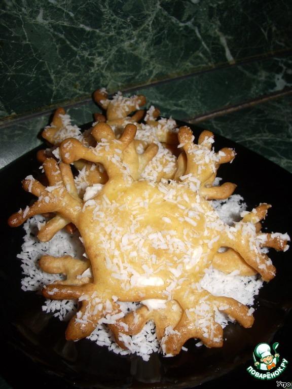 Десертные Снежинки