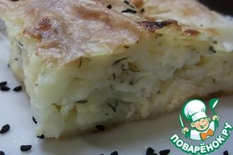 Рецепт: Турецкий бёрек с сыром