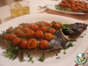 Рыба готова. Приглашайте супруга к столу! Приятного Вам вечера и нескучной ночи!
